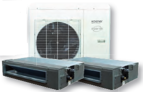 Climatizador Twin Axial Inverter